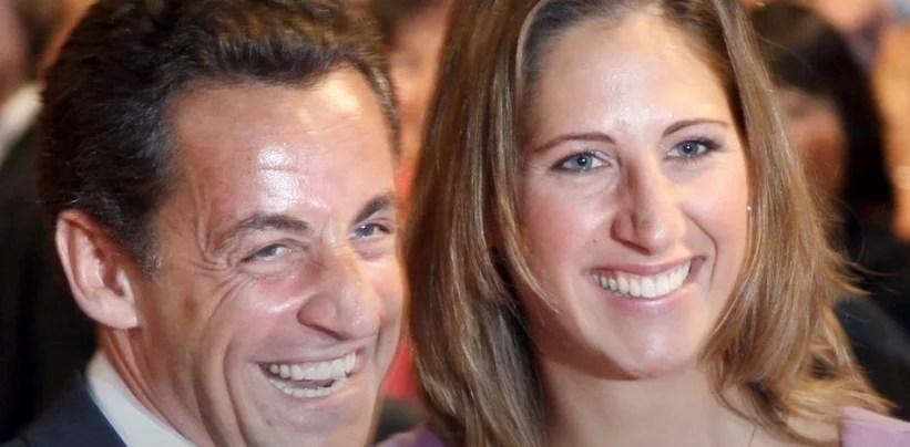 Maud Fontenoy et Nicolas Sarkozy