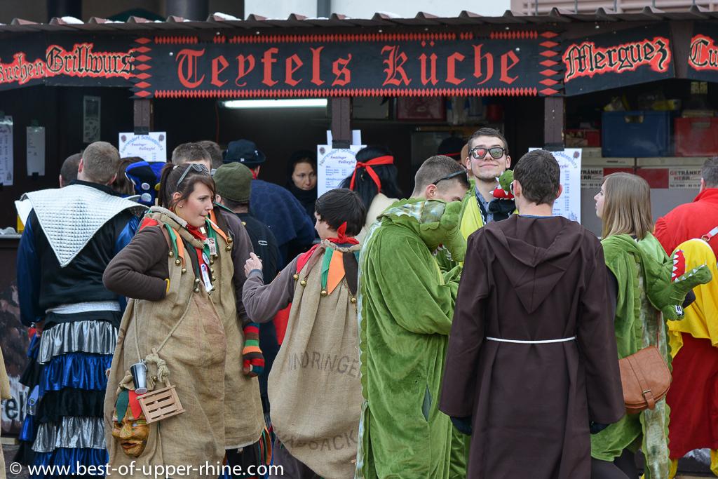 Carnaval à Emmendingen près de Freiburg en Allemagne