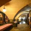 La cave historique des Hospices de Strasbourg.