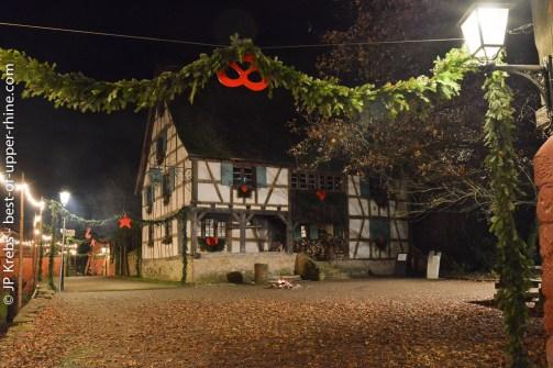 Maison de la rue du Vignoble. Ecomusée d'Alsace.