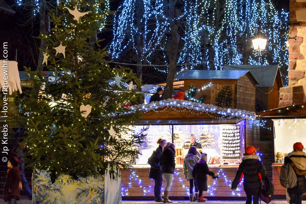 Au marché de Noël de Riquewihr, Alsace