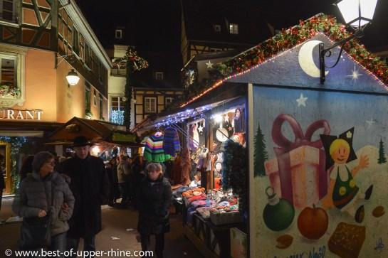 Marché de Noël à Colmar.