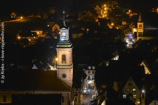 Riquewihr et le temple protestant Sainte- Marguerite
