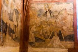 Hunawihr fresques du XVe siècle.