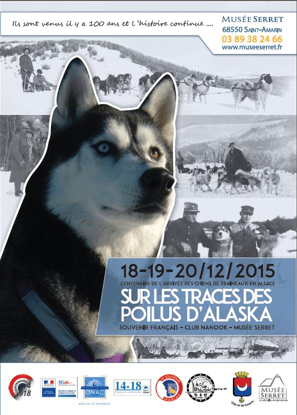 """1915 - Mission secrète de recherche de chiens de traîneau : Nom de code """"Poilus d'Alaska"""" (1)…"""