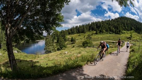 Le lac des Truites ou lac du Forlet