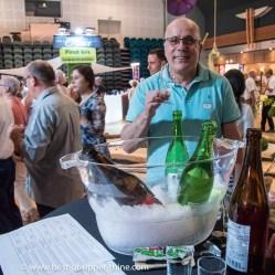 Les sakés japonais suscitent l'intérêt et la curiosité des vignerons alsaciens.