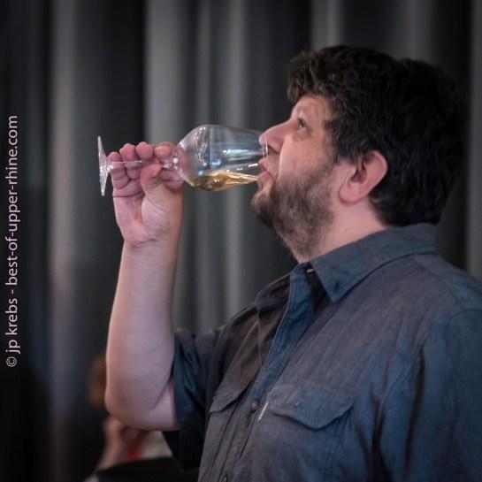 Yves Beck déguste les grands vins de Ribeauvillé - 2