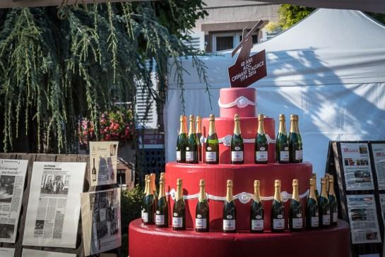 Gâteau d'anniversaire pour les 40 ans de l'appellation Crémant d'Alsace