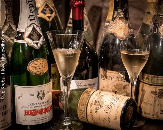 115 ans de vins effervescents du domaine Dopff Au Moulin à Riquewihr…