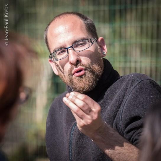Nicolas, guide et spécialiste des loups.