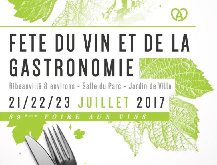 Fête du Vin et de la Gastronomie de Ribeauvillé 2017