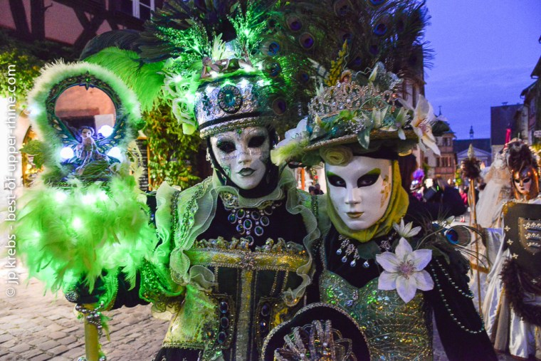 Parade vénitienne nocturne de Riquewihr