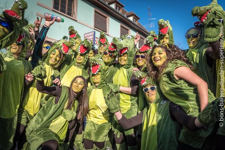 Au Carnaval de Hilsenheim près de Sélestat, il y a de l'ambiance !