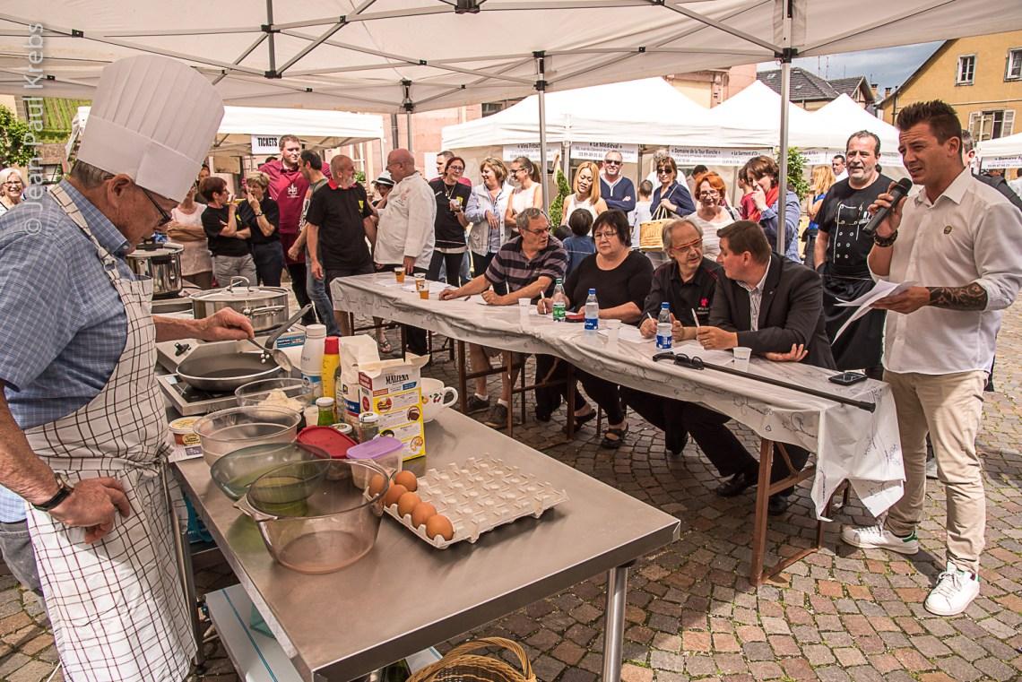 Riquewihr Knepfelfacht 2016. CookShow.