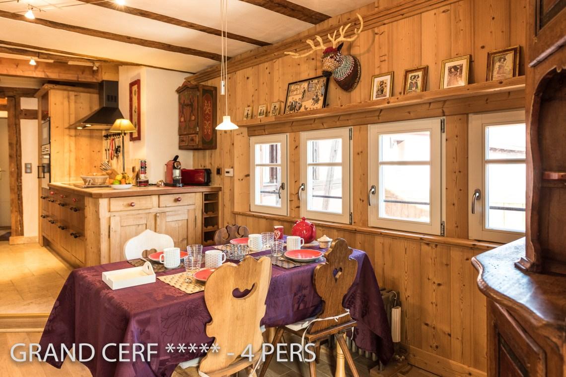 Grand Cerf à riquewihr - appartement 5 étoiles vue sur la stub