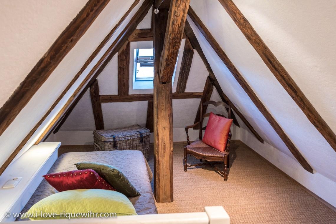 Le Dragon à riquewihr - appartement 5 étoiles la chambre