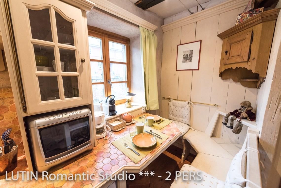 Le Lutin à riquewihr - appartement 3 étoiles la cuisine