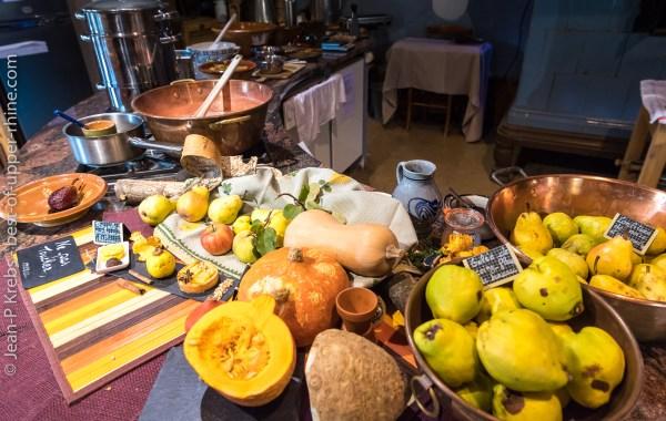 Fruits et légumes d'automne à l'écomusée d'Alsace