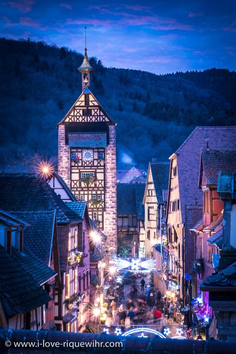 Riquewihr et son marché de Noël