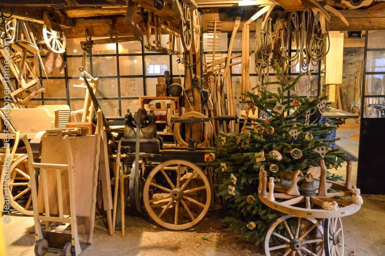 Ecomusee d'Alsace, l'atelier du charron