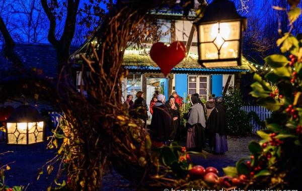 L'Ecomusée d'Alsace à la période de Noël