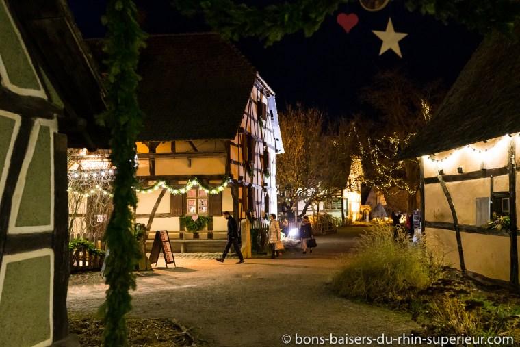 Ecomusée d'Alsace à l'époque de Noël