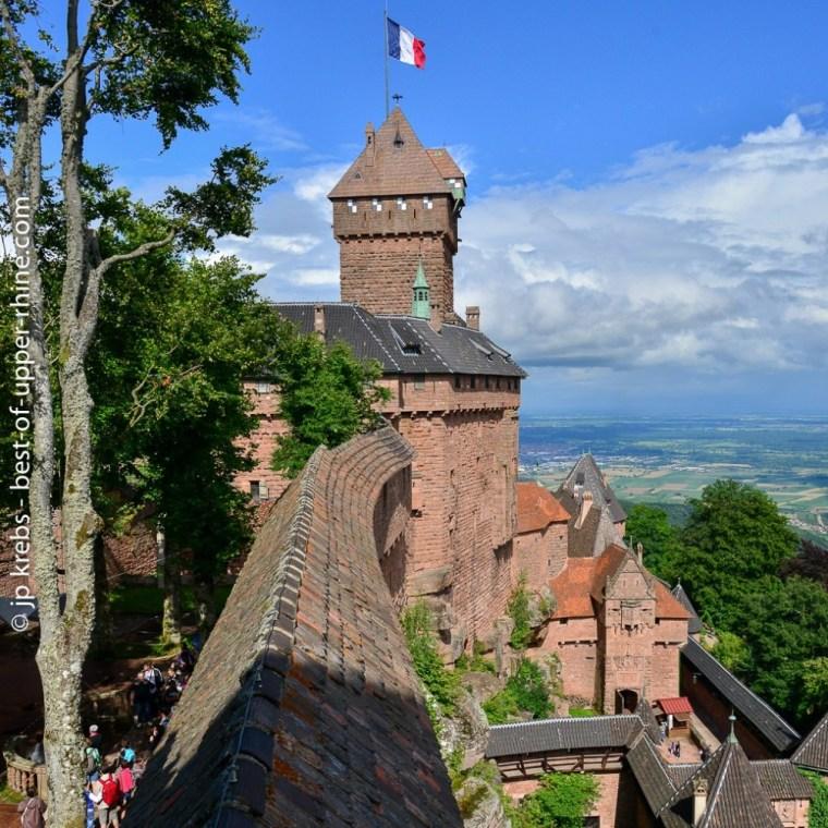 Le château du Haut-Koenigsbourg propose de nombreux évènements en été