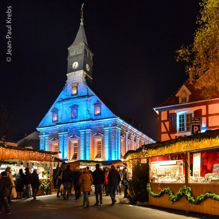 Le marché de Noël de Montbeliard vaut le déplacement.