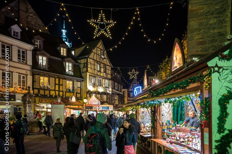 Le monde merveilleux des marchés de Noël de Colmar