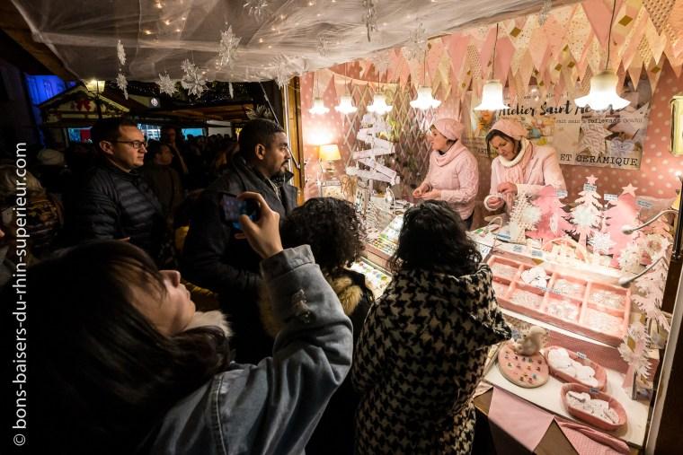 Bijoux et accessoires au marché de Noël de Colmar