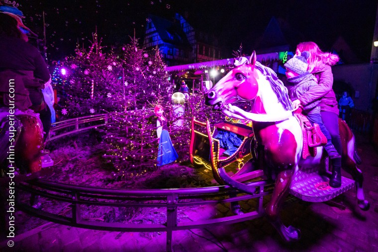 Manège des chevaux de Noël