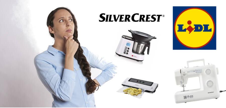 achetant des produits lidl silvercrest