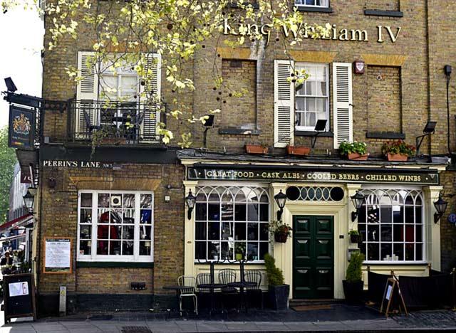King-william-pub-gay-londres