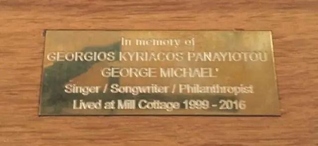 george-michael-plaque
