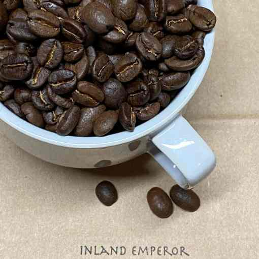 Inland Emperor medium roast from Bonsai Beans Coffee in Bend Oregon