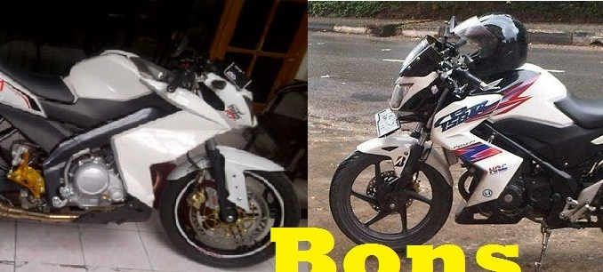 V-ixion Ala Z 250 vs CB 150 R Ala Z 250