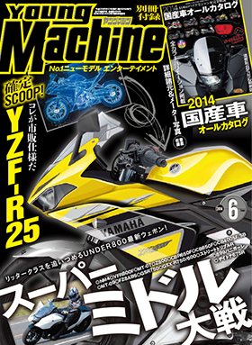 r 25 young machine