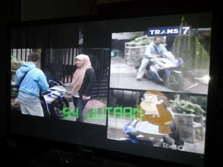 Tukang Sayur User R 25 Masuk TV