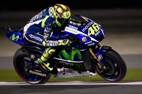 Rossi menang di Qatar