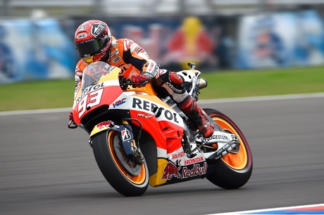 Marquez at FP 3 GP Argentina 2015