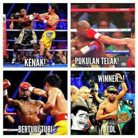 mayweather vs packman