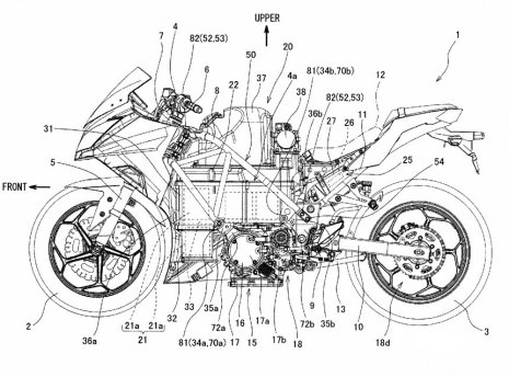 Electric Kawasaki Ninja Patents