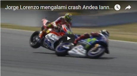 Vidio-Detik-detik-Lorenzo-Crash-di-catalunya-2016