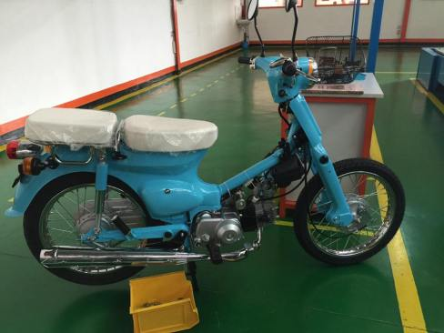 Super Cub Made in PT Gazgas Indonesia