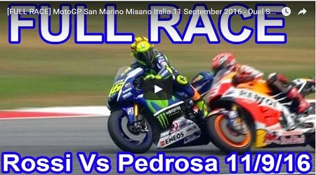 Vidio Race GP Misano 2016