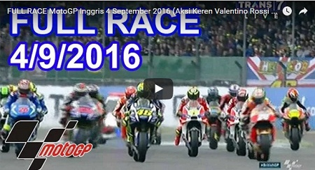 Vidio Race GP Silverstone 2016
