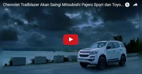 Video Teaser Chevrolet Trailblazer