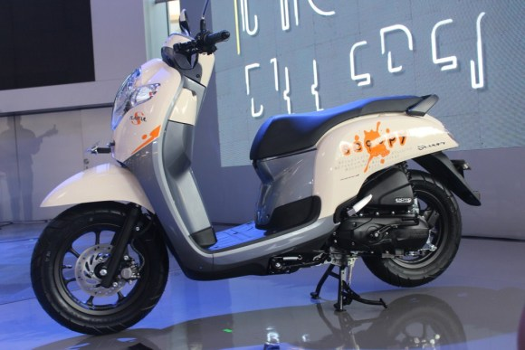 Mega Gallery Photo New Scoopy 2017