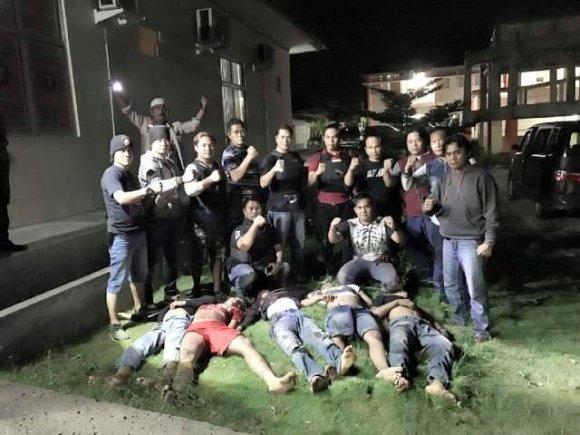 5 Begal Motor Ditembak Mati di Lampung